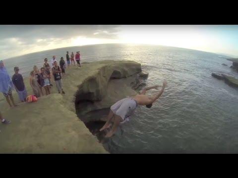 Best Cliff Jumping Fails Compilation Part 2