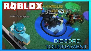 Discord Tournament!!! {} ROBLOX w/ Fans!