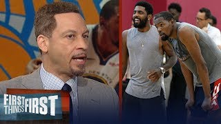 Download Chris Broussard breaks down a scenario where the Knicks land dream Big 3   NBA   FIRST THINGS FIRST Mp3 and Videos
