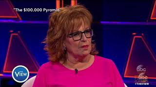 Joy Behar Helped Someone Win $50K on $100,000 Pyramid | The View