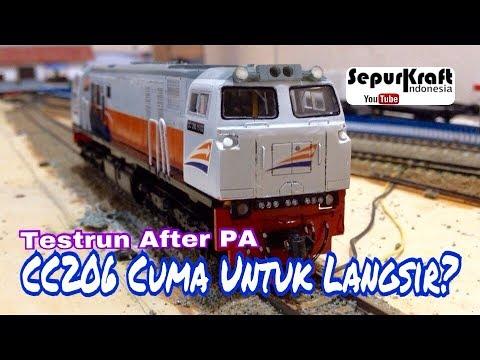 Miniatur Lokomotif CC206 | Indonesian Railways Model