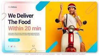 Logistic Delivery Service Promo | After Effects template