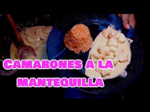 CAMARONES A LA MANTEQUILLA