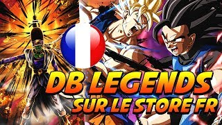 DRAGON BALL LEGENDS ENFIN DISPONIBLE OFFICIELLEMENT SUR LE STORE FRANÇAIS + GUIDE DÉBUTANTS