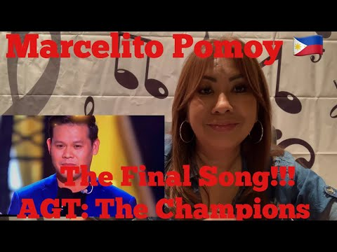 Marcelito Pomoy - Beauty And The Beast  Reaction (AGT Champions)