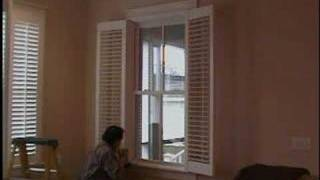Lets Install Framed Plantation Shutters