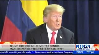 EE. UU. cree que golpe militar contra Maduro podría triunfar