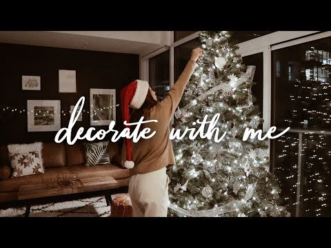 Decorate with Me for Christmas (i struggled lol) - YouTube