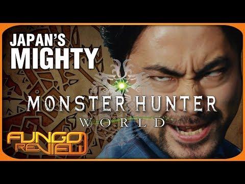 Japan's Mighty Monster Hunter World
