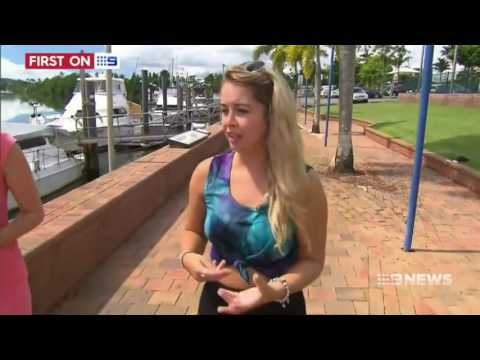 Lee de paauw crocodile attack interview - channel 9
