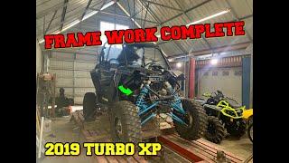 How I FIXED the FRAME Damage on my 2019 Razor Turbo XP