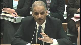 Hearing on: Oversight of the United States Department of Justice
