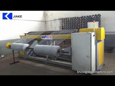 CNC straight and reverse hexagonal wire mesh machine