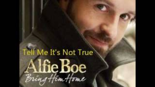 Alfie Boe - Tell Me It
