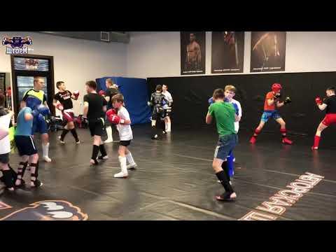 Репортаж с детской тренировки 💪 Спарринги
