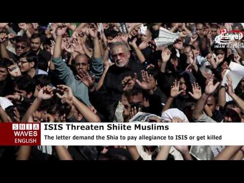 ISIS threaten Shiite Muslims in Pakistan: Accept our Islam or be killed .2016/08/13