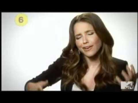 Sophia Bush on MTV's 10 on Top