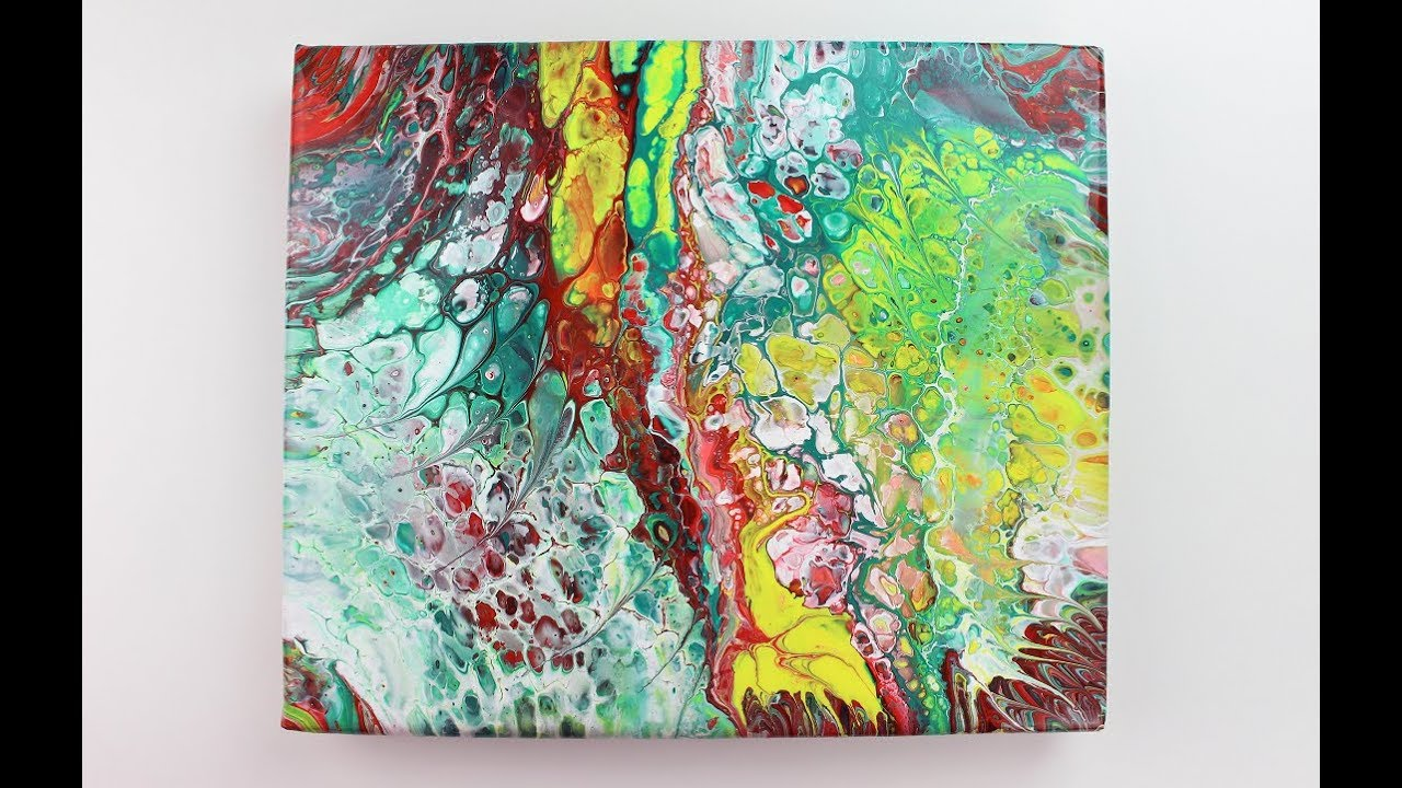 Pouring Painting Painting Acrylic Pouring Painting For