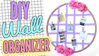 DIY Wall Organizer! Cute & Cheap Decor!
