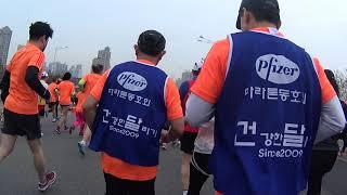 2018 서울 국제마라톤 (소니 액션캠)