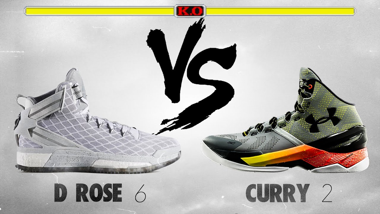 Adidas D Rose 6 Vs Under Armour Curry 2 Youtube