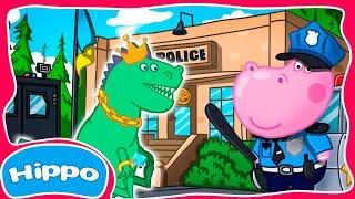 Гиппо 🌼 Детский полицейский участок 🌼 Все серии 🌼Мультик игра для детей (Hippo)
