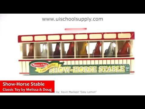 Show-Horse Stable By Melissa & Doug   LCI-4097