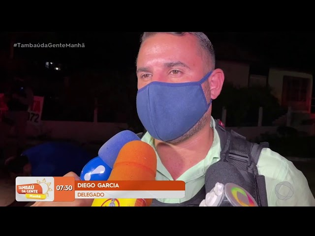 Tambaú da Gente Manhã - Homem é morto a tiros no Distrito de Livramento em Santa Rita