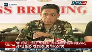 Marawi combat ops finally over Lorenzana