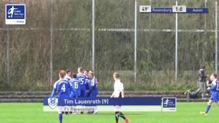 A-Junioren - FV Ravensburg vs. VfR Aalen 1-0 - Tim Lauenroth