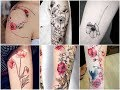 Beautiful Poppies Flowers Tattoo Design Ideas