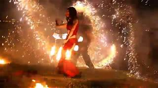 LUMOS: Танец с драконами. Фаер-шоу (огненное шоу), Иркутск.