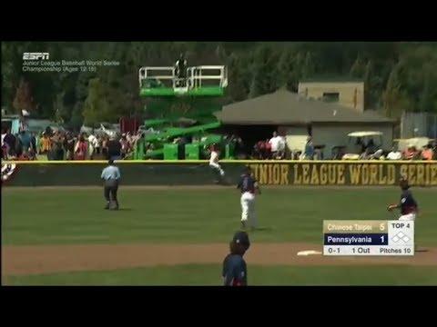 Greatest Catch In Little League World Series History by Jack Regenye 2017 LLWS
