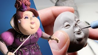 Sculpting a GOOD WITCH / Fairy Godmother - Finally Making Something Bright and Happy - Polymer Clay