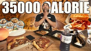 The Ultimate 35,000 Calorie Challenge Movie