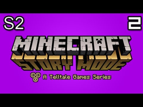 Minecraft Story Mode Let's Play: S2E1 Part 2 - HECKMOUTH