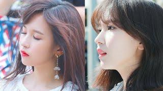 JEONGYEON cực kỳ mê mẩn đặc điểm gương mặt xinh đẹp của MINA giống hệt như những người hâm mộ