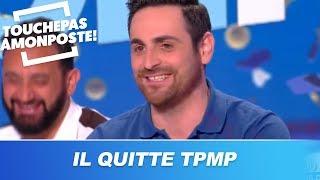 Camille Combal s'explique sur son départ de TPMP