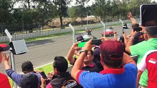 Desfile de Pilotos Gran Premio de México 2017