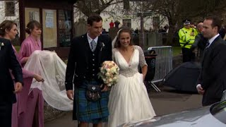 Tennis star Andy Murray weds