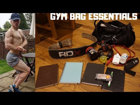 WHAT A BODYBUILDERS GYM BAG SHOULD LOOK LIKE (The Essentials)