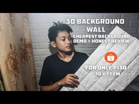 Background Wall 3D Brick Wallpaper (PART 2)