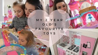 My 2 Year Old's Top/best Toys! | 2 Year Old Favourite Toys | Toddler Gift Ideas Christmas Gift Guide