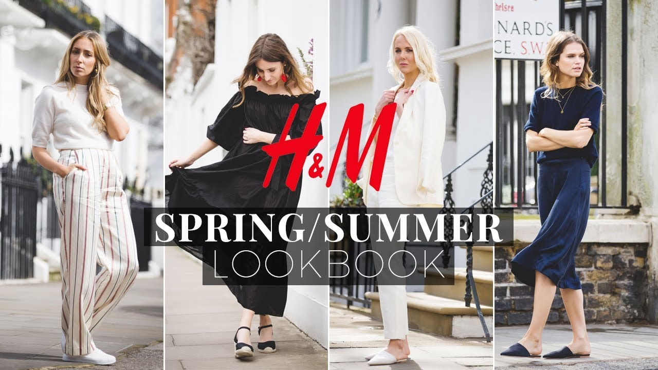 H&M Spring/Summer Lookbook 2018 1