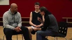 Artland Dragons Interview Danielius Lavrinovicius und Florian Hartenstein NBBL Allstar Game