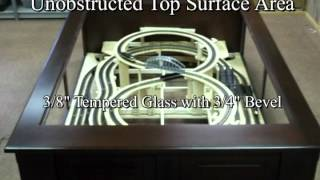 Custom Model Railroad Ho Scale Coffee Table- Build Update Phase I-iii