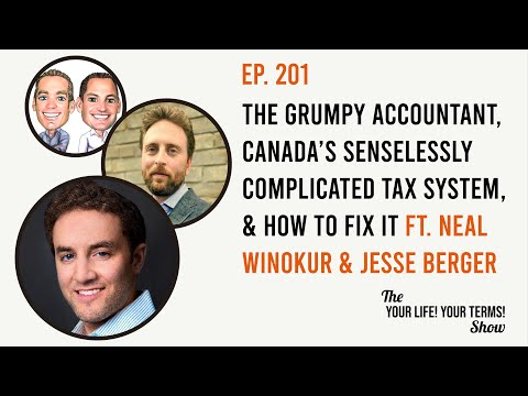 The Grumpy Accountant, Canada's Senselessly Complicated Tax System & How to Fix It
