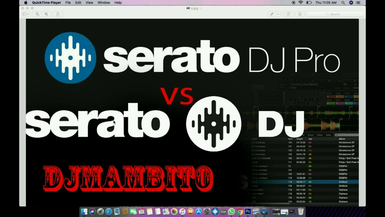 Serato Dj Vs Serato Dj PRo New Video