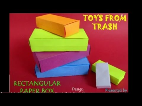 Rectangular Paper Box English 26mb Youtube