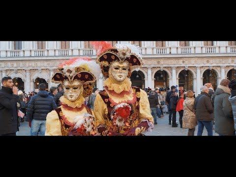 GH5s cinematic Street test In Venice Carnival 2018| Night & Day |4k|